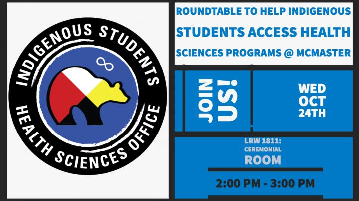 Facilitated Roundtable: Indigenous Students Recruitment and Retention Strategy for Health Sciences